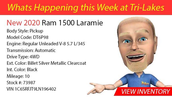 What's Happening 2020 RAM 1500 Laramie
