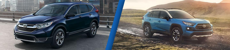 Compact SUV Comparison: 2020 Honda CR-V Versus 2020 Toyota RAV4