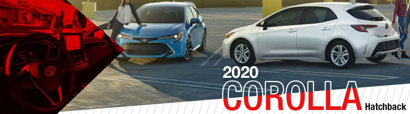 Get Into The 2020 Toyota Corolla Hatchback In Weatherford, TX