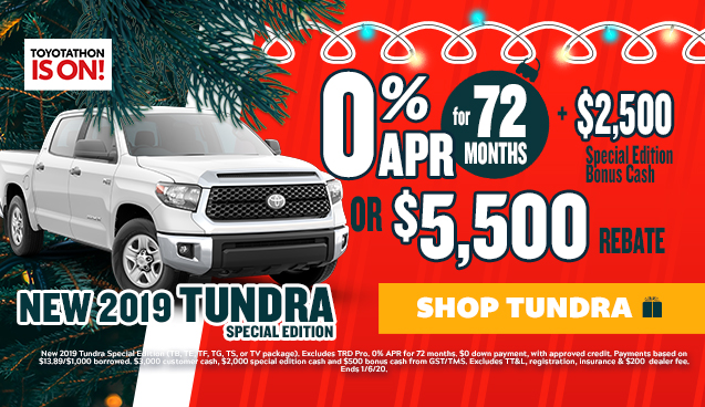 New 2019 Toyota Tundra Special Edition