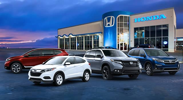 Honda Vehicles Display