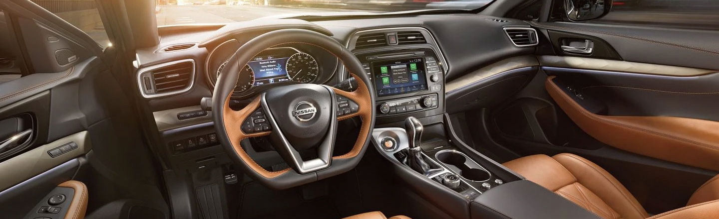 2020 Nissan Maxima Sedan Interior For Sale In Bessemer, Alabama
