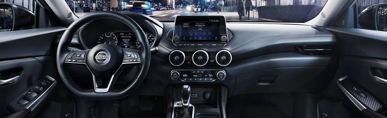 Interior look at the 2020 Nissan Sentra Coming Soon