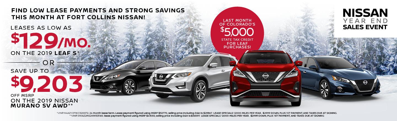 Nissan Murano Lease Deals >> Nissan Dealership Fort Collins Co Loveland Boulder New