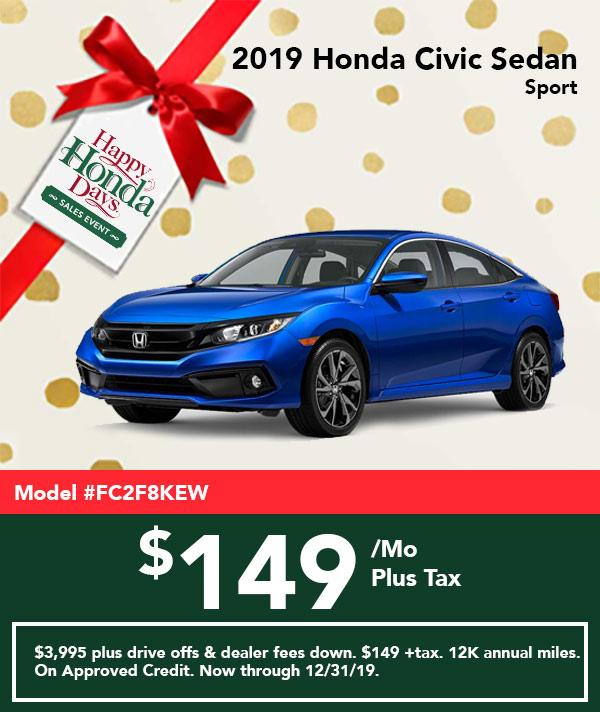 2019 Civic Sport