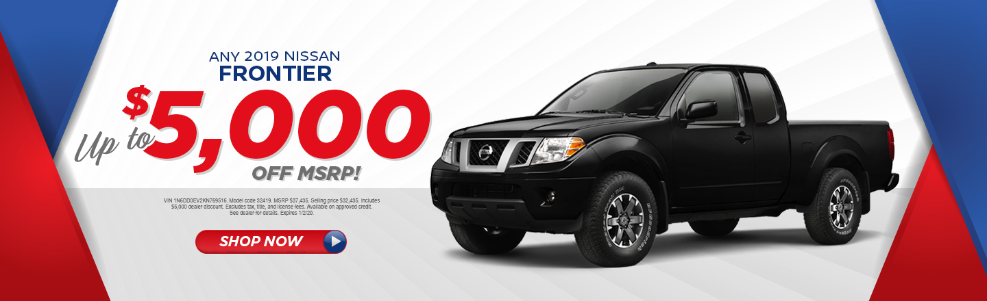 ANY 2019 NISSAN FRONTIER