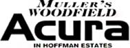 muller's woodfield acura logo