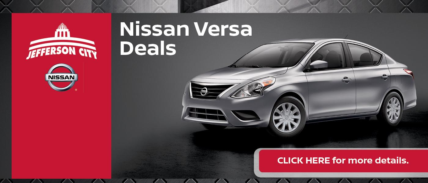 2020 Nissan Versa Specials