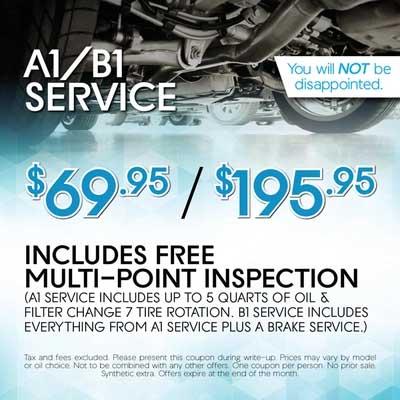 A1/B1 Service