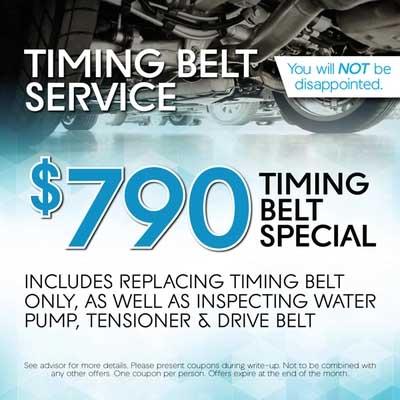Timing Belt Service
