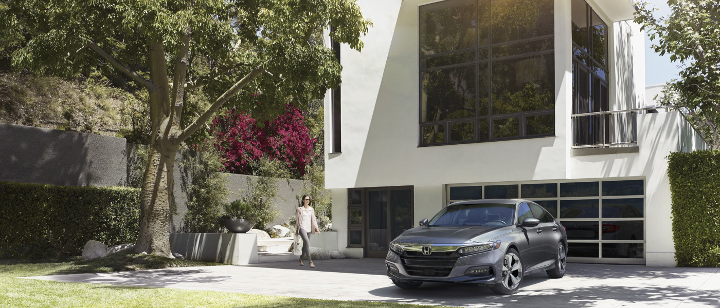 2020 Honda Accord outside house