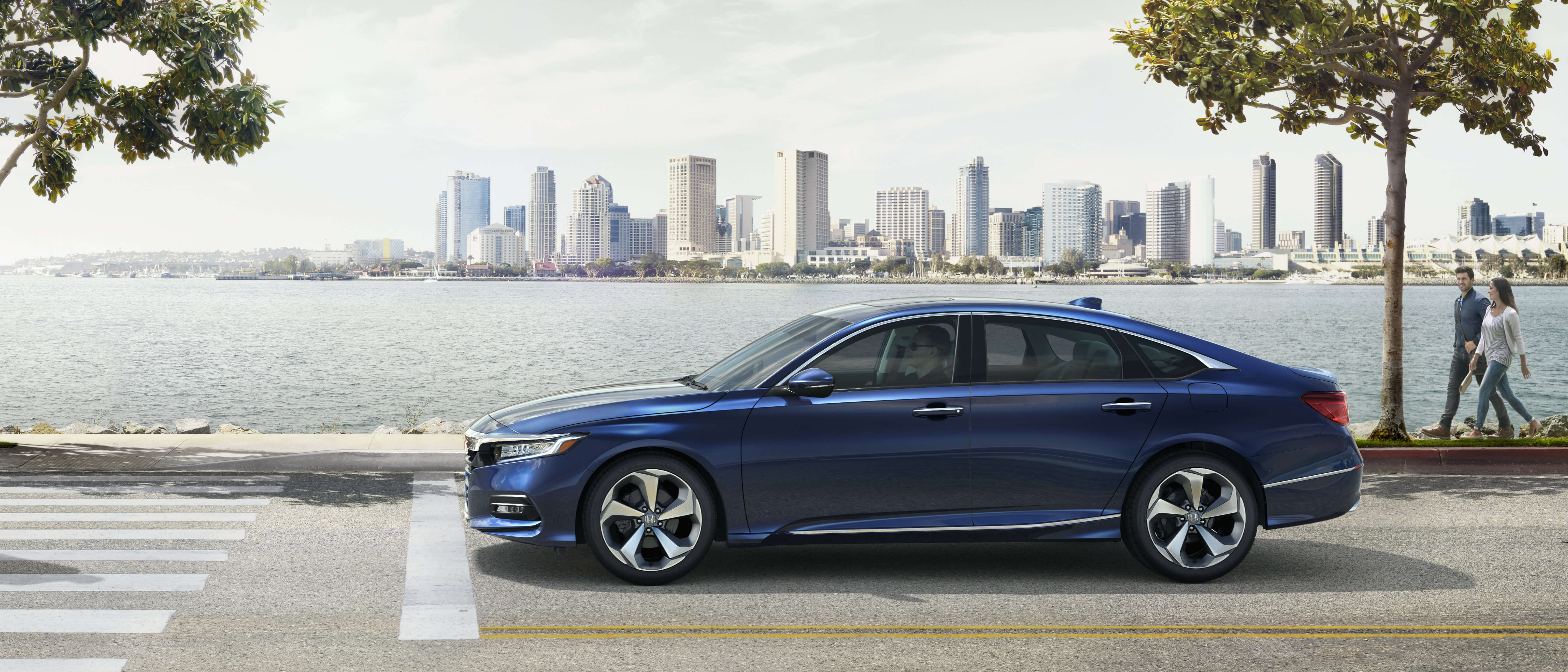 Blue 2020 Honda Accord