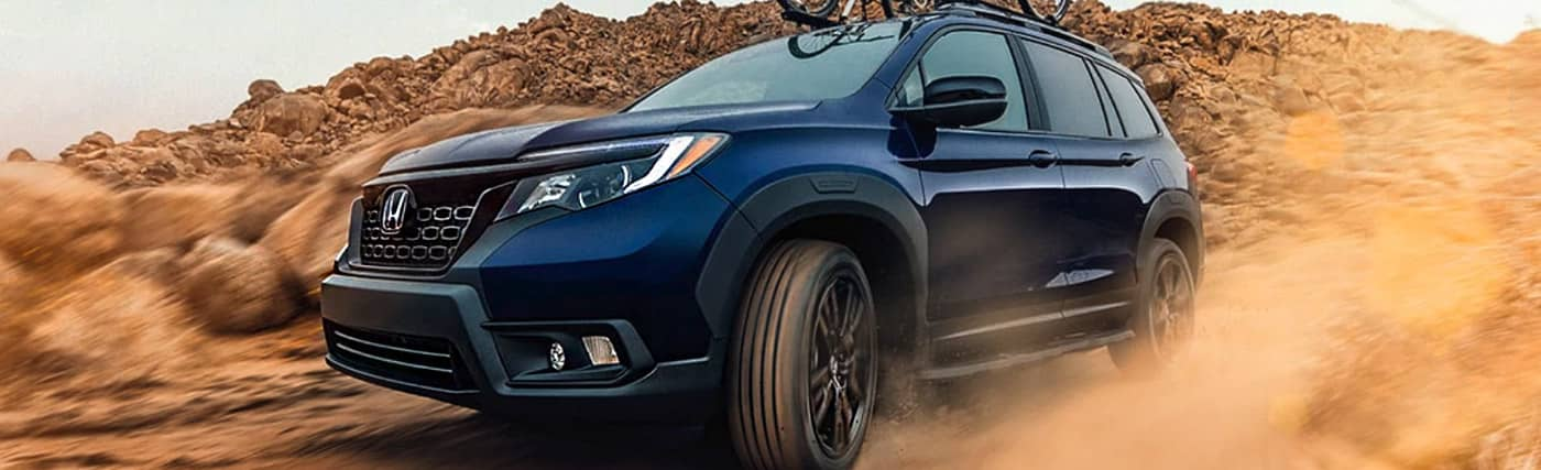 The 2020 Honda Passport is available at our Honda dealership in Fort Myers, FL.