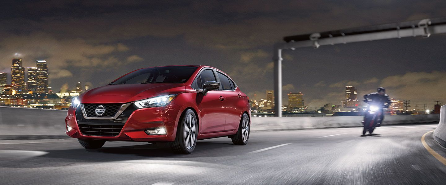 2020 Nissan Versa in the Bay Area