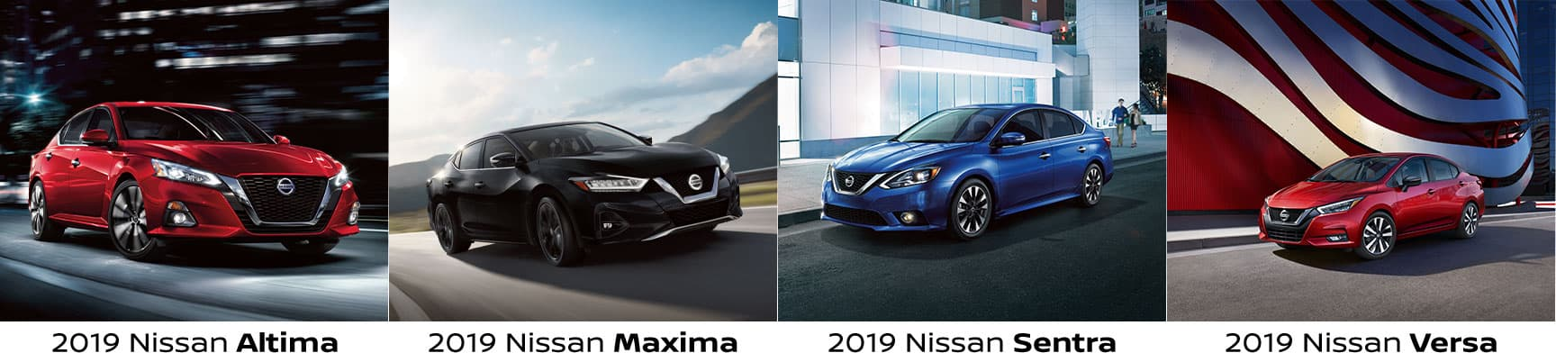 Comparing Nissan Sedan Models