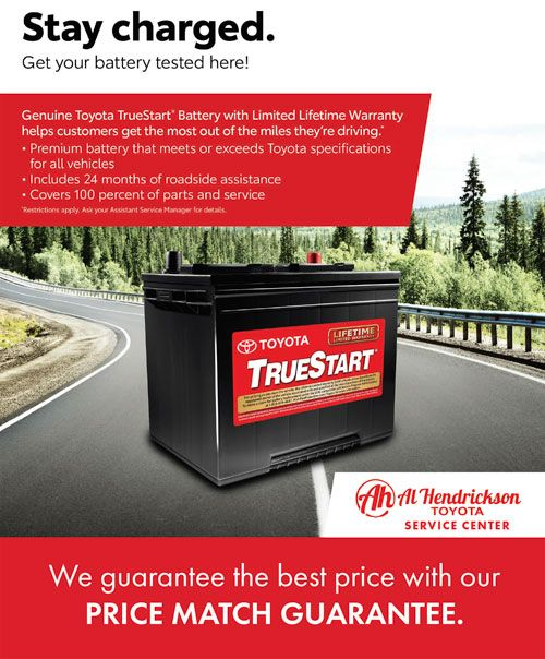 Price Match Guarantee batteries