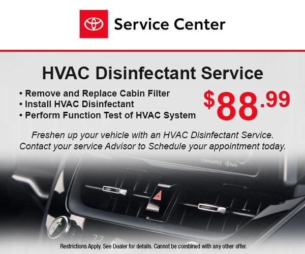HVAC Disinfectant Service