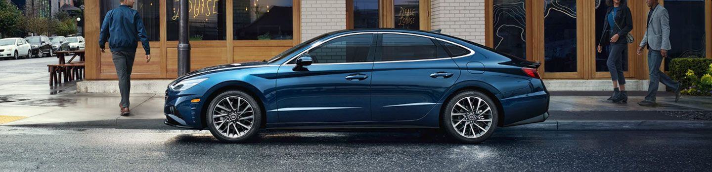 2020 Hyundai Sonata on city street