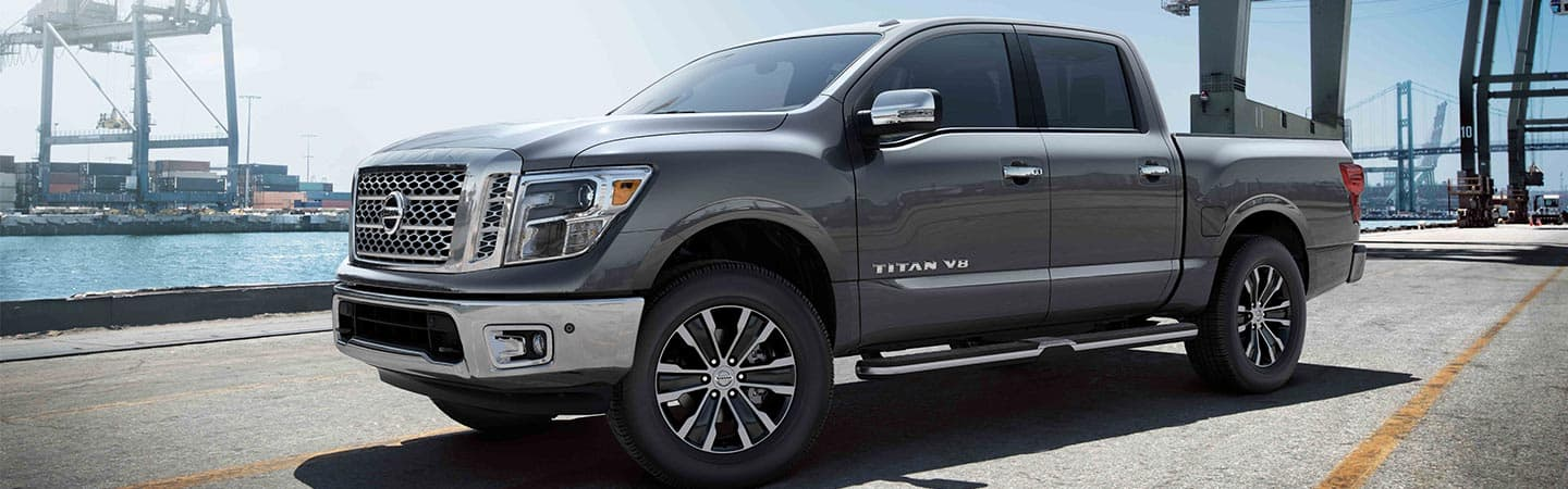2019 Nissan Titan available at Nissan of Gadsden