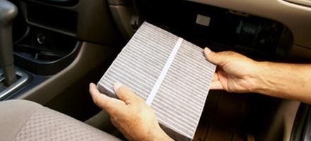 Cabin A/C Filter Replacement