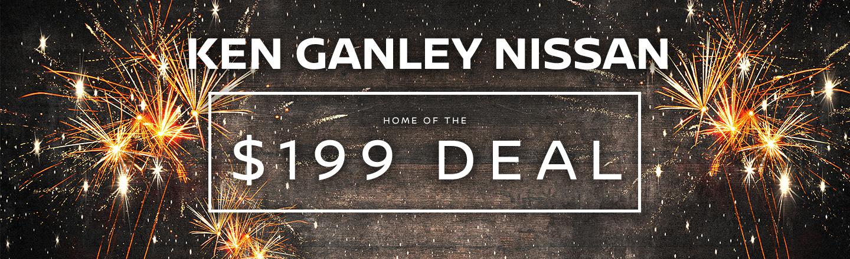 Ken Ganley Nissan Monthly Lease Specials