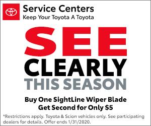 Sightline Wiper Blade Special