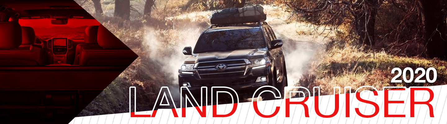 Drive the 2020 Toyota Land Cruiser in Weatherford, TX, Near Dallas