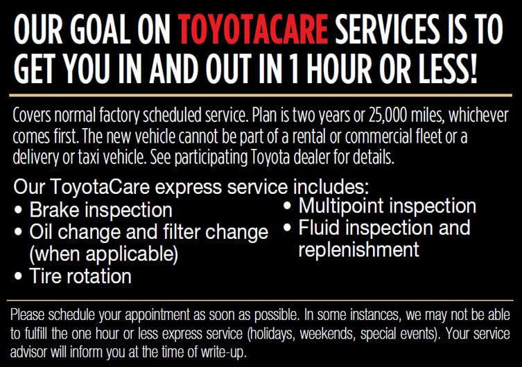 Toyota Care Service