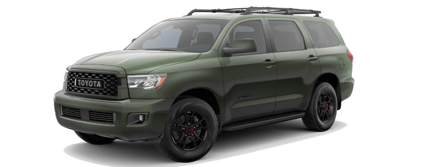 2020 Toyota Sequoia Exterior