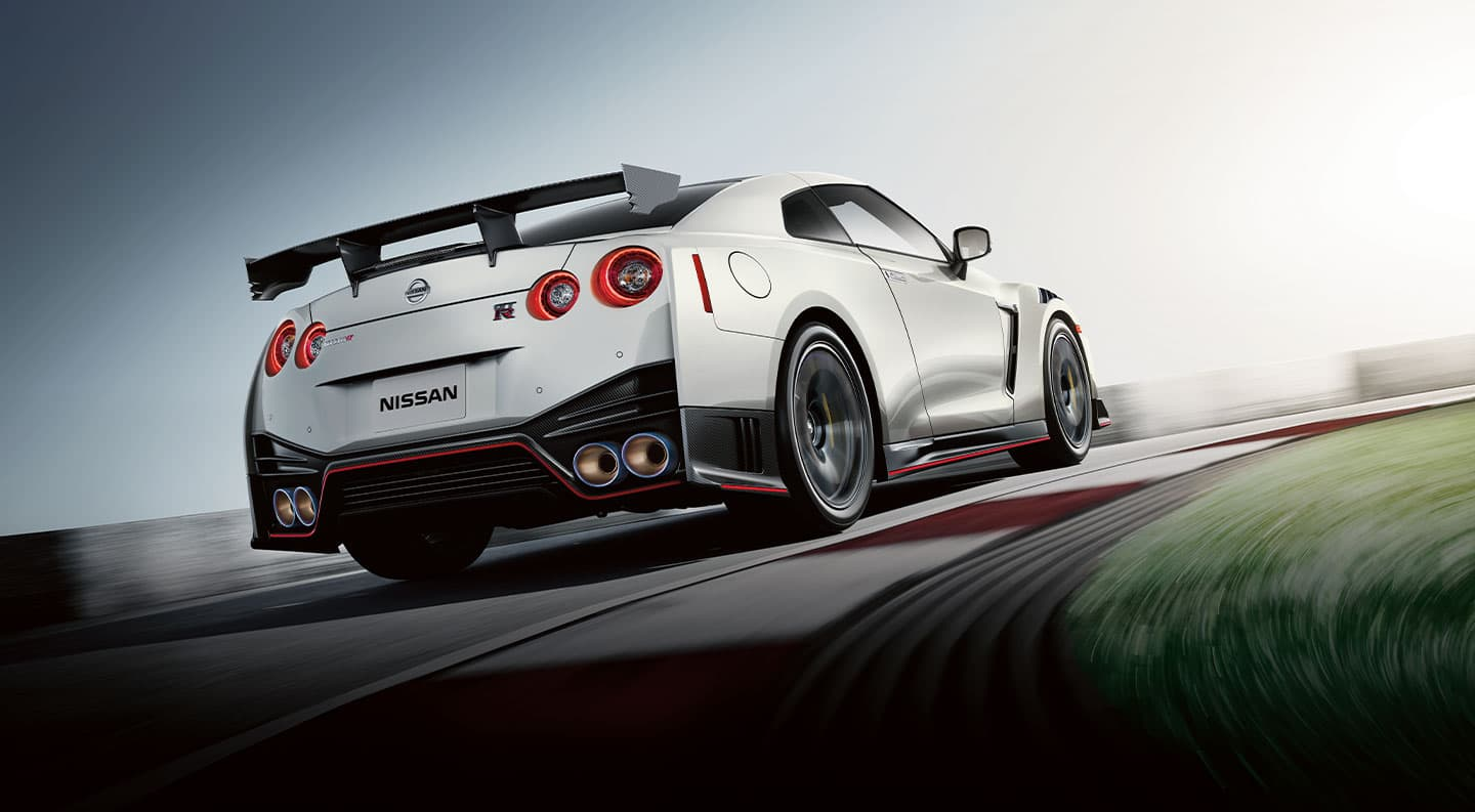 2020 Nissan GT-R® in Silver driving