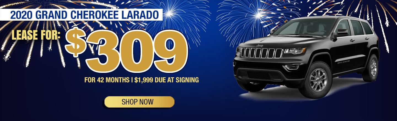 2020 Grand Cherokee Larado