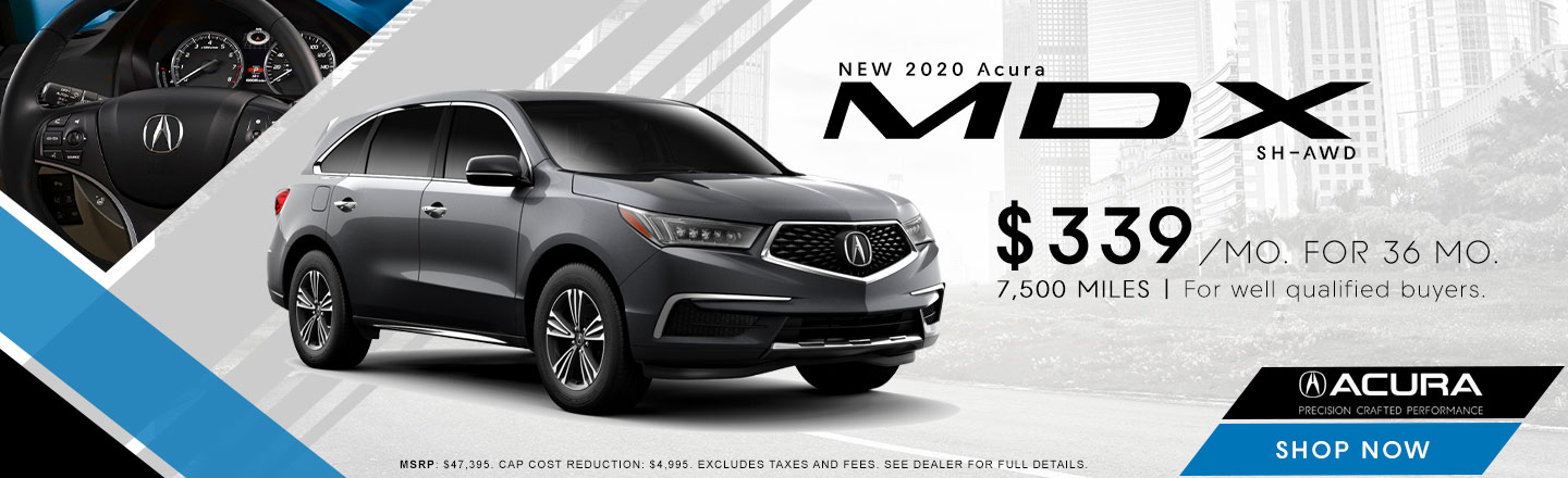 2020 MDX lease