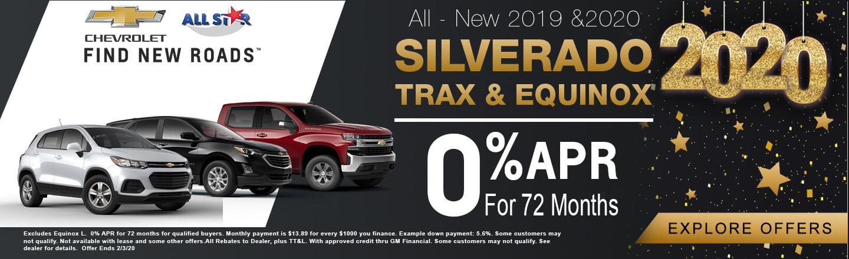 2019 Chevy Trax Silverado Equinox