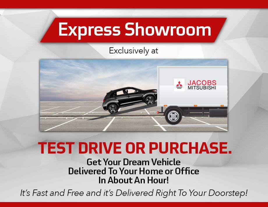 Express Showroom at Jacobs Mitsubishi
