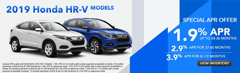 2019 Honda HR-V  Models