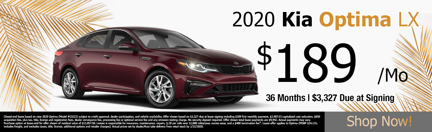 Optima Lease Special