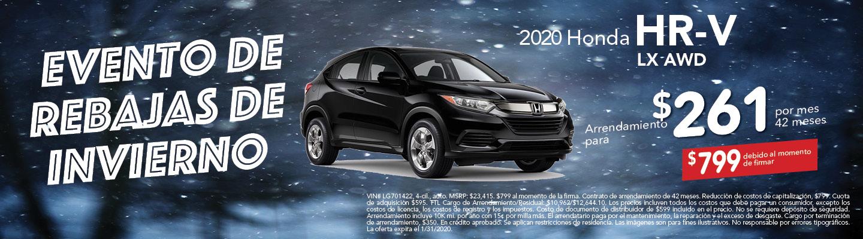 2020 HR-V LX