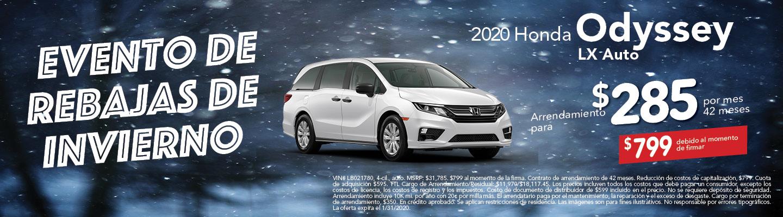 2020 Odyssey LX
