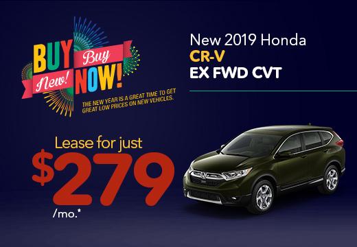 New 2019 Honda CR-V EX Vatland Honda