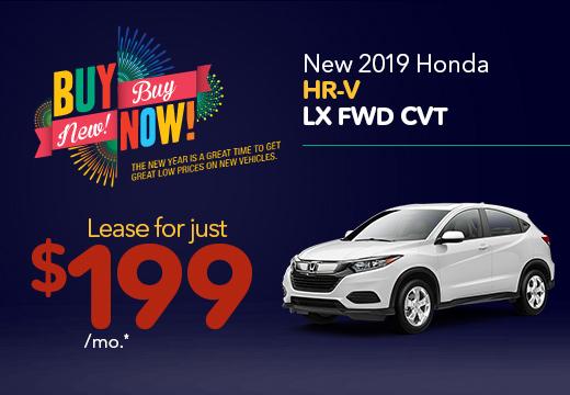 New 2019 Honda HR-V LX Vatland Honda