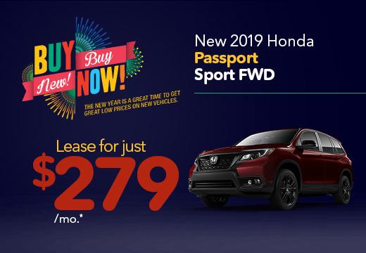 New 2019 Honda Passport Sport Vatland Honda