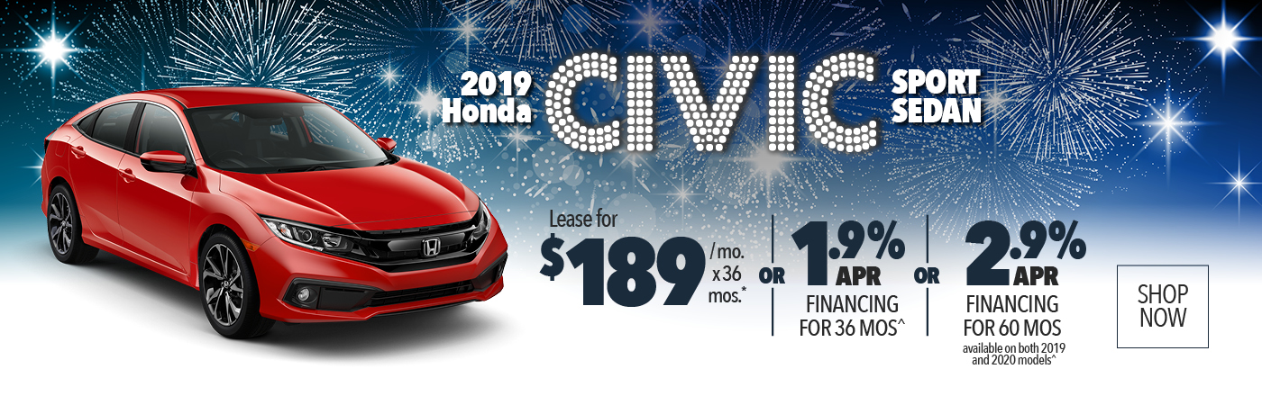 2019 Honda Civic CVT Sedan CVT LX