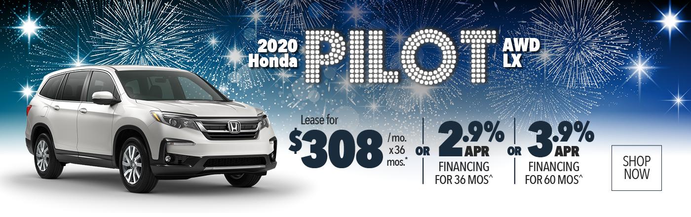 2020 Honda Pilot AWD LX