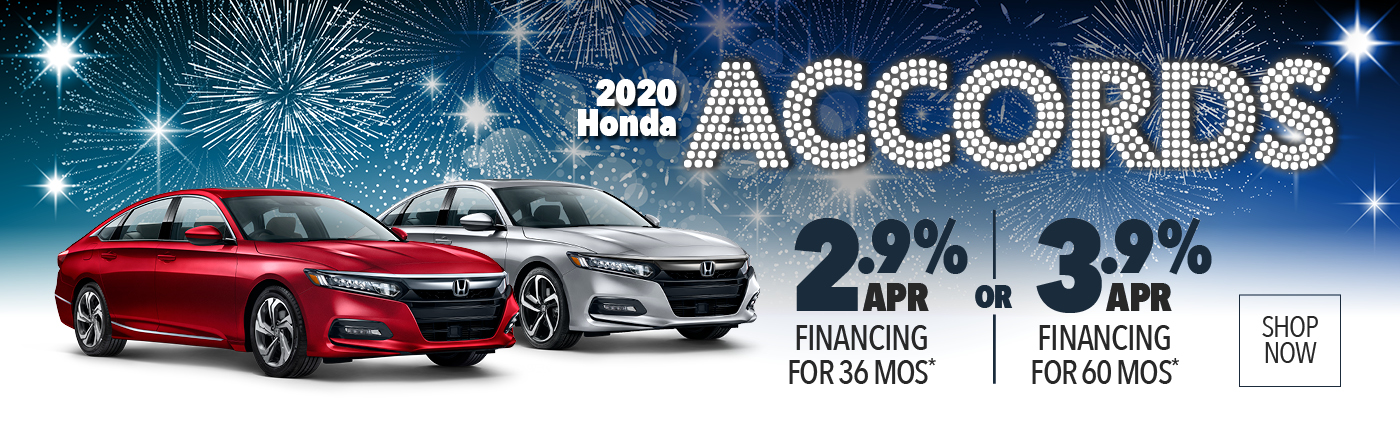 2020 Honda Accords APR