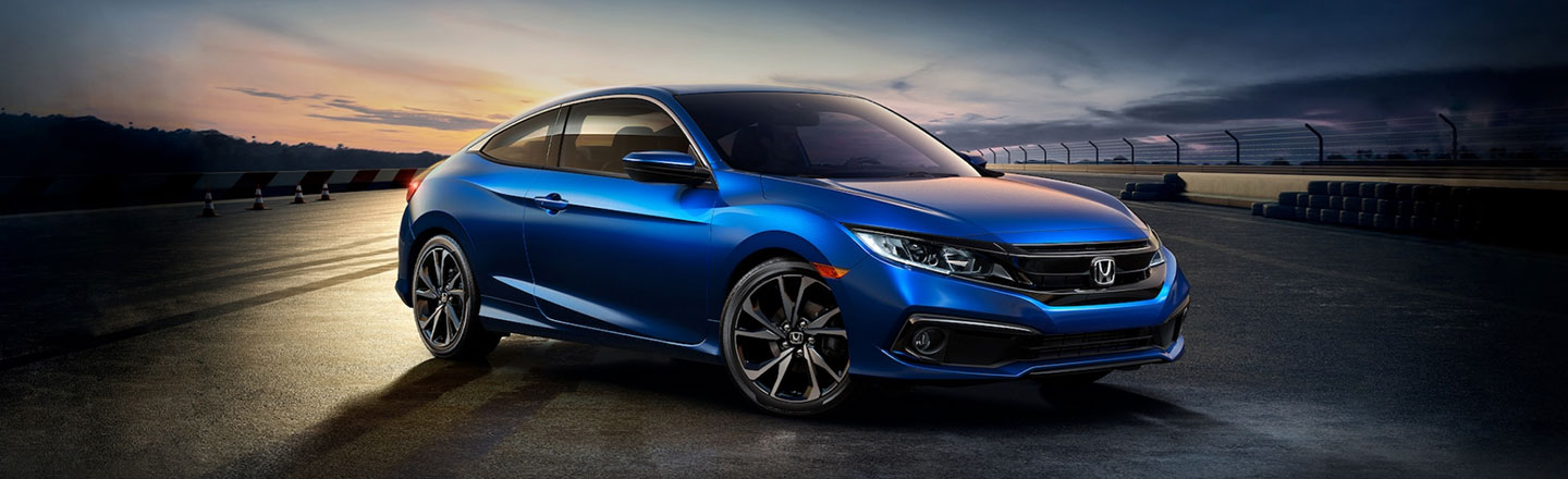 The 2020 Honda Civic Coupe Sport is available at our Honda dealership in Fort Myers, FL.