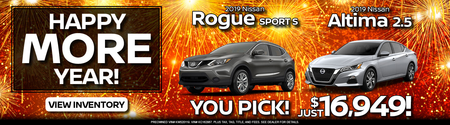 Rogue Sport & Altima Offer