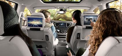 2020 Chrysler Pacifica interior available at Premier CDJR of Tracy