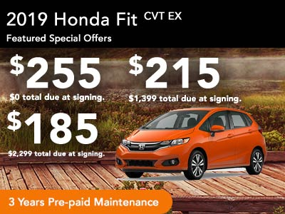 2019 Fit EX Lease