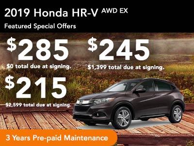 2019 HR-V EX AWD CVT