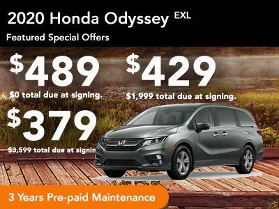 2020 Odyssey EX-L